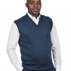 P1747-C19 Mens V-Neck Slipover Sweaters Design 19