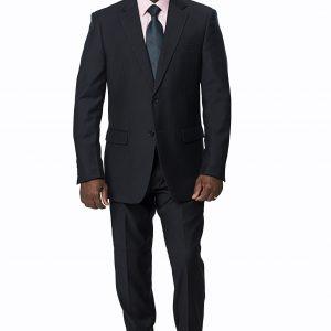 P1769-23 Regular Fit Silhouette Expressions Black Suit