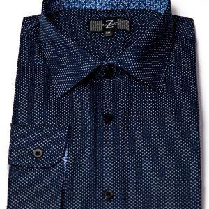 P1786-12 Zuccari Regular Fit 100% Fine Cotton Shirt