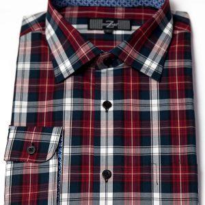 P1786-32 Zuccari Regular Fit 100% Fine Cotton Shirt