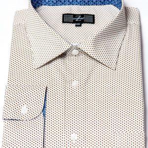 P1786-33 Zuccari Regular Fit 100% Fine Cotton Shirt