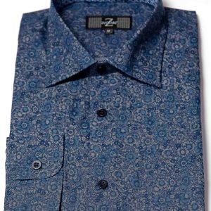 P1786-35 Zuccari Regular Fit 100% Fine Cotton Shirt